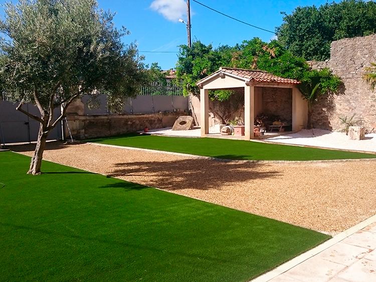Terrasse bois narbonne for Conception jardin sete